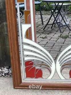 Vintage MCM TURNER Decorative Accessories Large Wall Mirror 40 1/2 x 22 1/2