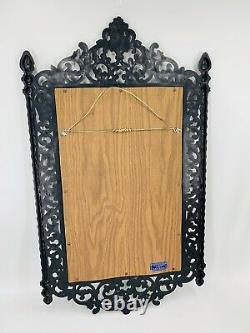 Vintage Syroco HOMCO Large 32 By 18.5 Wall Mirror USA 2041 Hollywood Regency