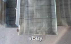 Vtg Mid Century Milo Baughman Era Lrg 52×24 Geometric Mirror Wall ArtGVC